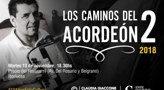 """En Ybarlucea se proyectarán """"Los Caminos del Acordeón 2"""""""