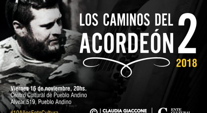 «Los Caminos del Acordeón 2» llegan a Pueblo Andino