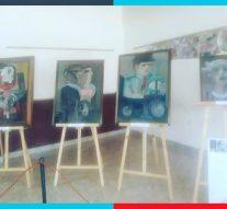 La muestra de Jorge Mattalía fue inaugurada en la comunidad de María Juana