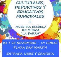 San Jorge: Cierre de Talleres Culturales, Deportivos y Educativos Municipales