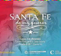 """""""Santa Fe de mi querer"""" se presentará en el imponente Centro Cultural – ATE""""Casa España"""""""