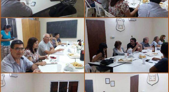 En la localidad de Díaz se llevó a cabo la última reunión de la Usina I (sur)