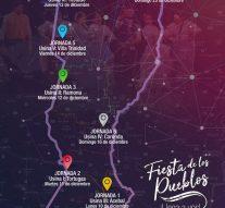 """""""La Fiesta de los Pueblos 2018"""" llegará a distintos puntos de la provincia"""