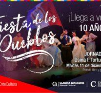 """Tortugas será sede de la segunda jornada de la """"Fiesta de los Pueblos 2018"""""""