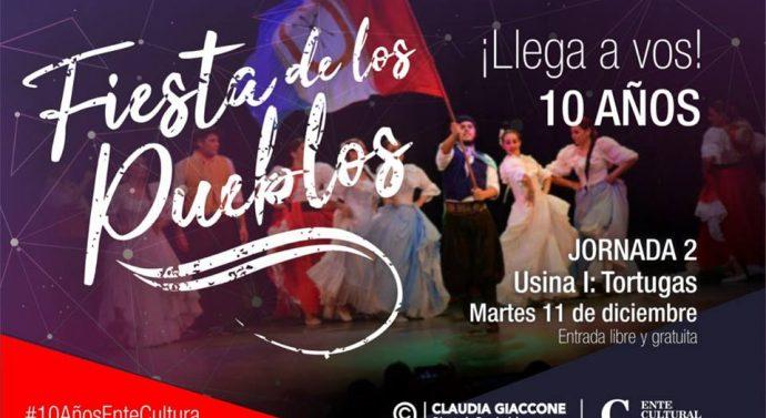 Tortugas será sede de la segunda jornada de la «Fiesta de los Pueblos 2018»
