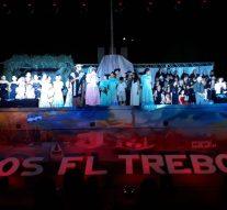 """El Trébol: """"Navidad para Todos"""" se vivió en Plaza San Martín."""