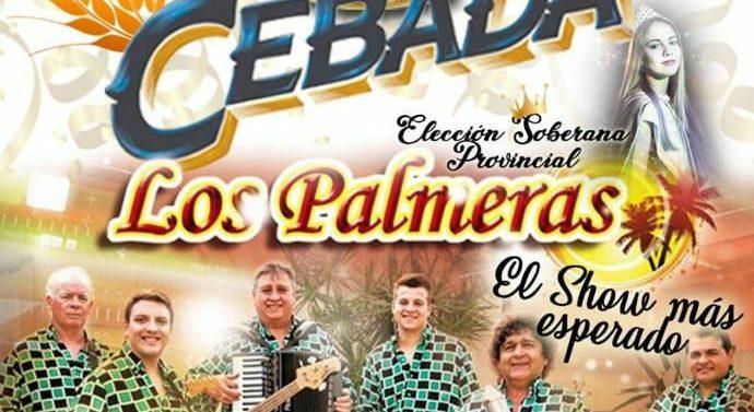Díaz: La «Fiesta de la Cebada» es provincial y cierra con Los Palmeras
