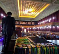 Entrega de reconocimientos a ciudadanos de El Trébol