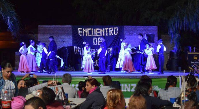Bustinza: Se llevó a cabo el 4° Encuentro de Danza y Canto