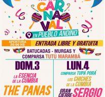 Andino tendrá sus noches de Carnaval