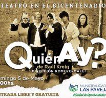 Las Parejas: Teatro en Casa del Bicentenario