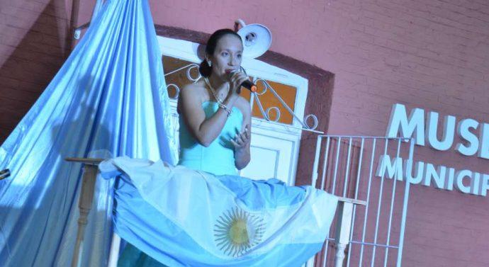 Emotivo acto en homenaje a los trabajadores y a Eva Duarte de Perón
