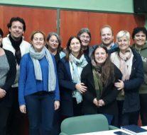 El Trébol recibió a los representantes culturales de la Usina I (norte)