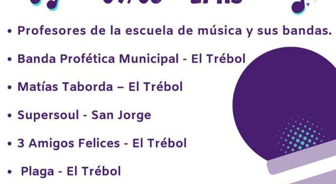 El Trébol: Llega «El Cervantes suena»