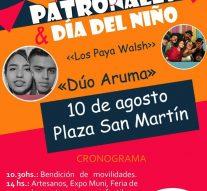 El  Trébol: Festejos Patronales & Día del Niño