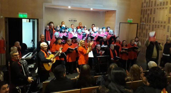 San Jorge: «Grandes Jóvenes Cantantes» presentes en Merlo