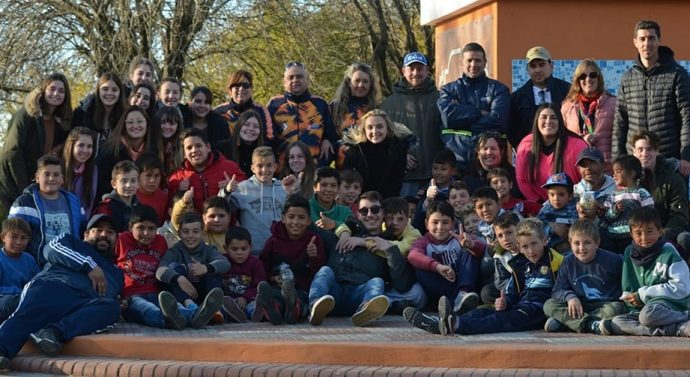 El «Torneo Provincial de Bolitas» se palpitó en Montes de Oca
