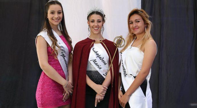 Martina Carozzo es la nueva Embajadora de la Fiestas Patronales.