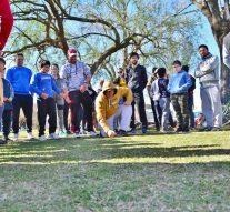 Tortugas y una tarde a pleno junto al «Torneo Provincial de Bolitas»