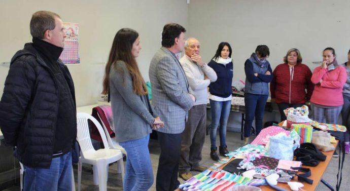 El Trébol: El Taller de Costura cerró con una muestra de trabajos