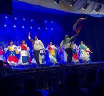 Se realizó el 1° Festival Latinoamericano del Canto y la Danza, con un gran éxito.