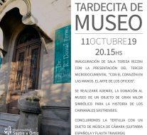 "El Museo Municipal inaugura la sala ""Teresa Rizzini"""