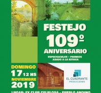 Andino celebrará su 109° aniversario con shows, premios y asado a la estaca
