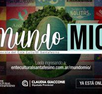 «Mundo Mío» la revista del Ente Cultural Santafesino