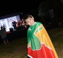 Un niño de 10 años creó la bandera de la ciudad El Trébol