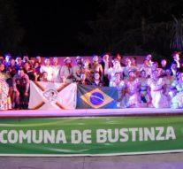 Noche de «Latinoamericano» en Bustinza