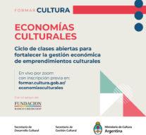 Economías culturales: clases abiertas para fortalecer la gestión económica de emprendimientos culturales
