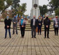 Con un acto virtual, Sastre rindió homenajes al creador de la Bandera