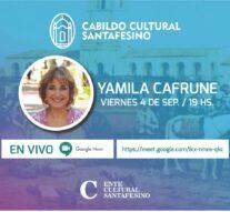 Yamila Cafrune cierra el «Cabildo Cultural Santafesino»