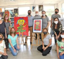 La Muestra «CuidARTE» visitó Montes de Oca
