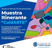 «CuidARTE» ya visita la comunidad de Tortugas
