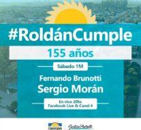"""Virtual y por varios días: el festejo """"musical"""" que prepara Roldán para su 155º aniversario"""