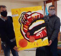 La obra de Malena Cambronera representará a la Usina I (sur)