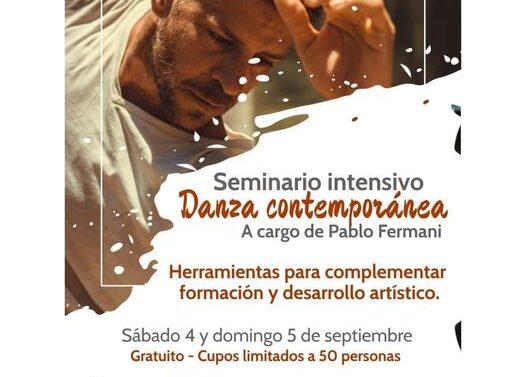 San Jorge: Seminario Intensivo de Danza Contemporánea
