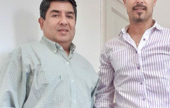 Reunión del Presidente del Ente Cultural en la ciudad de Crespo (E.R.)