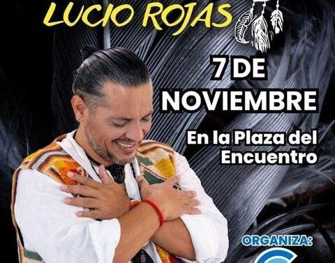 Lucio Rojas se presentará en Centeno