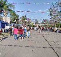 «Gran Feria Peatonal de Emprendimientos y Comercios» en María Juana