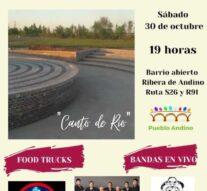 Pueblo Andino contará con un Anfiteatro Comunal