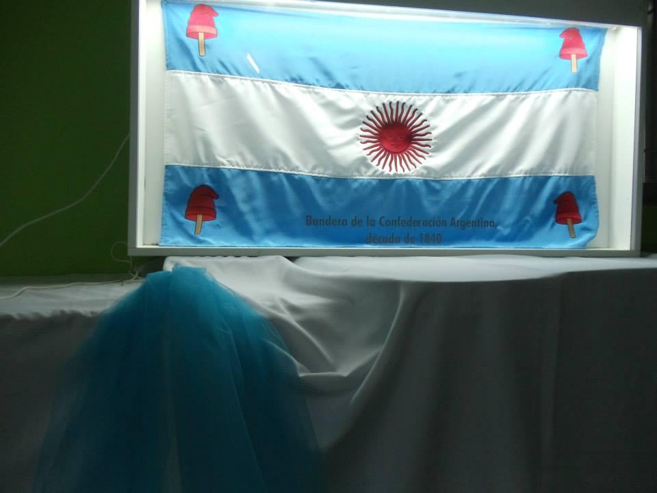 """La Muestra """"Las Banderas de Belgrano"""" visita Tacural"""