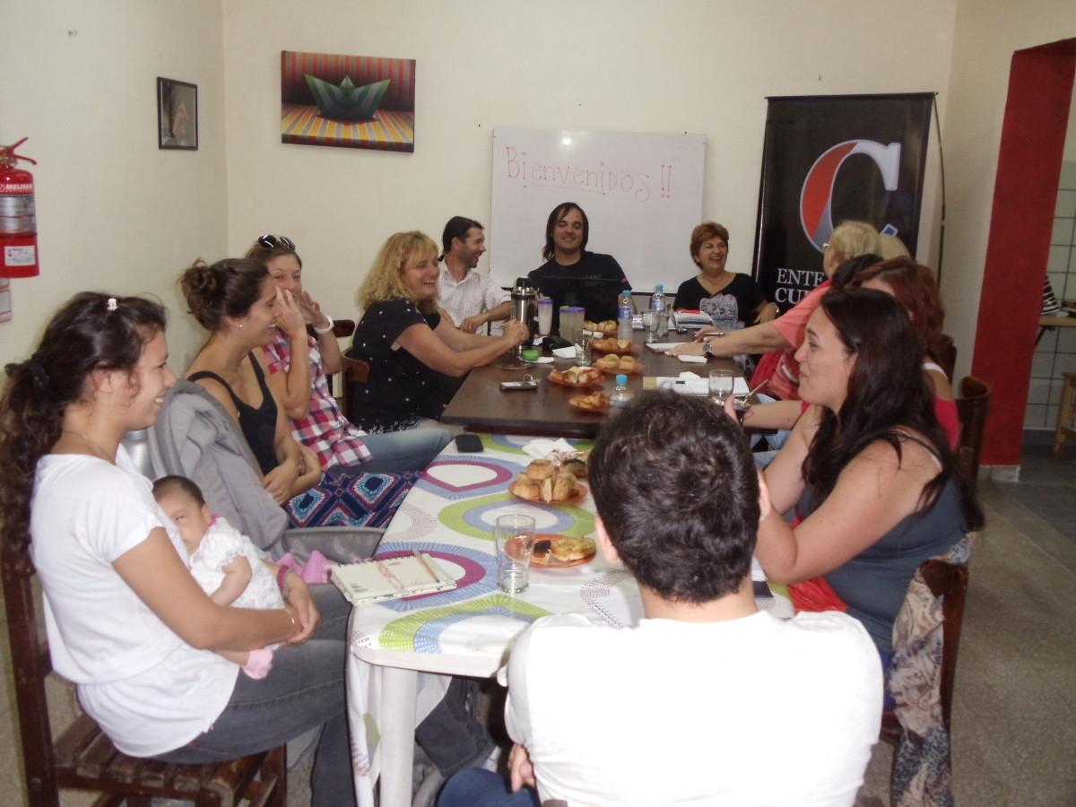 La Usina Cultural II se reunió en Lehmann
