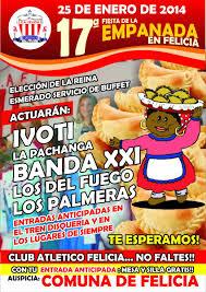 Felicia: Se avecina la 17ª Fiesta de la Empanada Artesanal