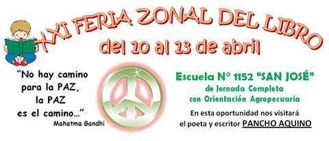 Felicia: Se desarrollará la «XXI Feria Zonal del Libro»