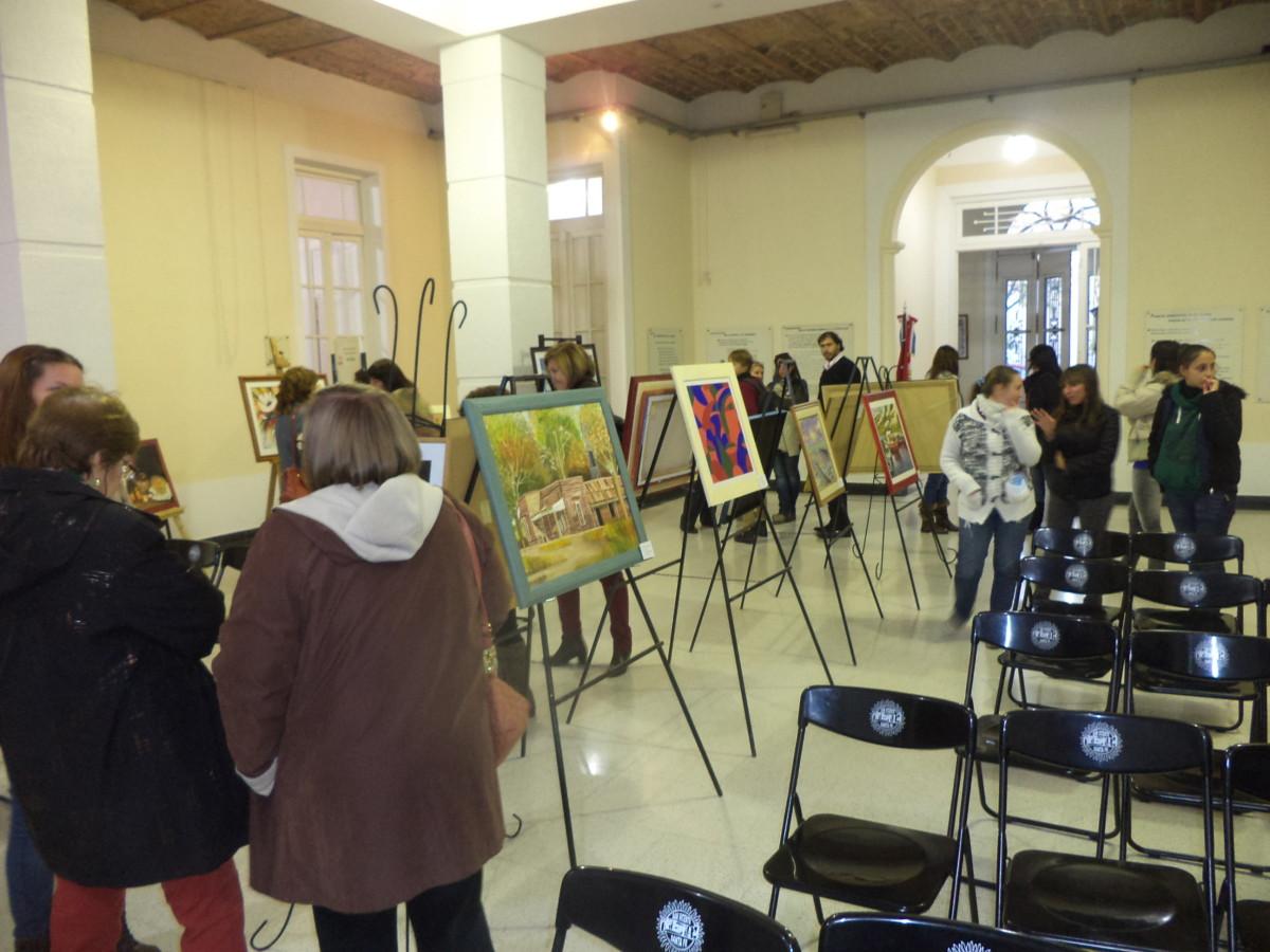 """San Vicente se pintó de """"Formas y Colores"""""""