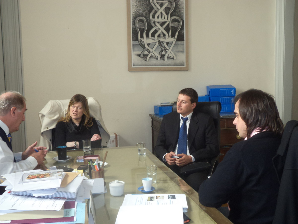 Entrevistas del Ente Cultural en Ministerio de Cultura de la Nación
