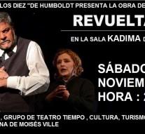 Moisés Ville: Continúa la gira provincial de «El Teatro y la Historia»
