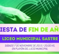 """El Liceo Municipal cierra el año con la """"Misa Criolla"""""""